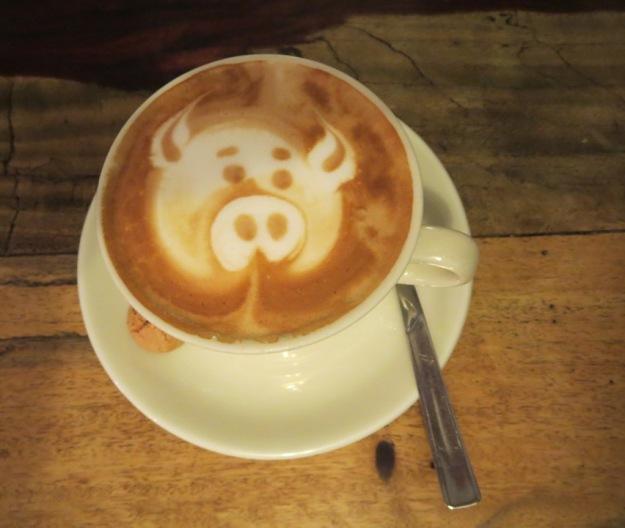 Cappuccino - Schweinchen-klein
